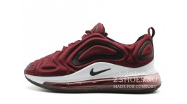 Nike Air Max 720 Maroon Red бордовые