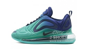 Кроссовки женские Nike Air Max 720 Sea Forest Deep Royal Blue