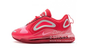 Кроссовки женские Nike Air Max 720 Silver Red