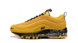 Nike Air Max 97 Overbranding Taxi Yellow желтые