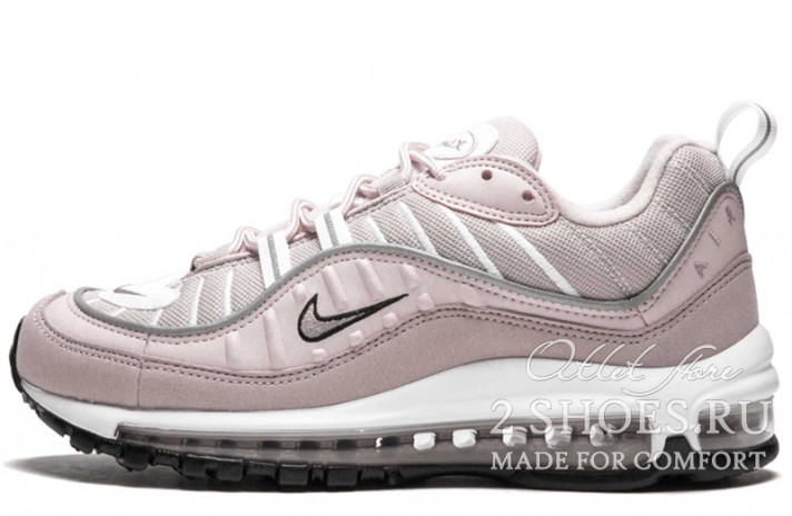 Nike Air Max 98 Barely Rose Elemental розовые, фото 1