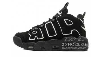Кроссовки женские Nike Air More Uptempo 96 Black White