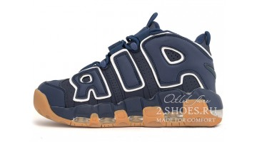 Кроссовки Мужские Nike Air More Uptempo 96 Obsidian Gum