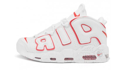 Nike Air More Uptempo 96 White Varsity Red