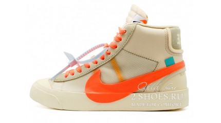Nike Blazer Mid Off White Spooky Pack All Hallows Eve