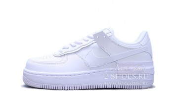 Кроссовки Женские Nike Air Force 1 Low Shadow Triple White