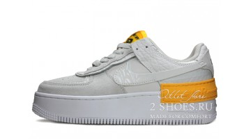 Кроссовки Женские Nike Air Force 1 Low Shadow Grey Laser Orange