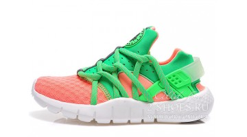 Кроссовки женские Nike Air Huarache NM Orange Green