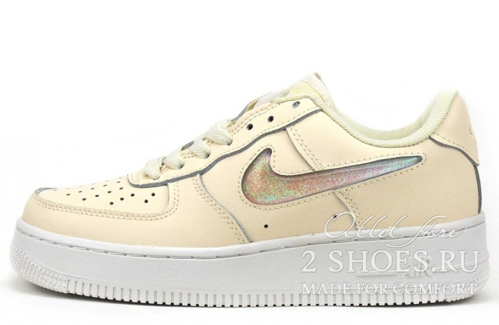 Кроссовки Nike Air Force 1 07 Se Premium Jelly Puff White Guava Ice