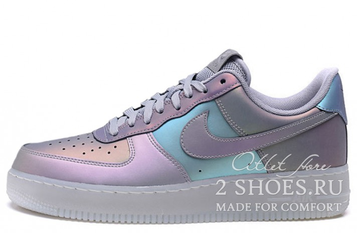 Кроссовки Nike Air Force 1 07 LV8 Iridescent Anthracite Stealth