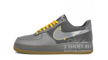 Кроссовки Мужские Nike Air Force 1 Low Cool Grey Pure Platinum