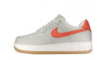 Кроссовки Мужские Nike Air Force 1 Low Grey Red