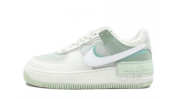 Кроссовки Женские Nike Air Force 1 Low Shadow Pistachio Frost