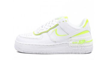Кроссовки Женские Nike Air Force 1 Low Shadow White Lemon