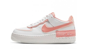 Кроссовки Женские Nike Air Force 1 Low Shadow White Pink Quartz