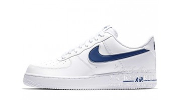 Кроссовки Женские Nike Air Force 1 Low White Blue