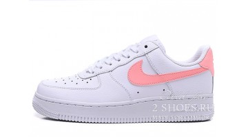 Кроссовки Женские Nike Air Force 1 White Oracle Pink