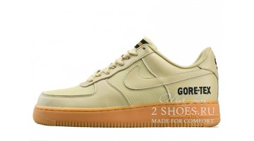 Кроссовки мужские Nike Air Force Low Gore-Tex Team Gold Khaki