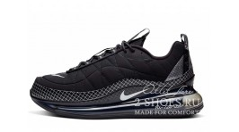 Nike Air Max 720 818 Black Triple черные