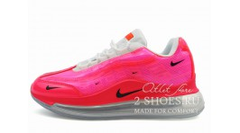 Nike Air Max 720 Heron Preston Pink розовые кожаные