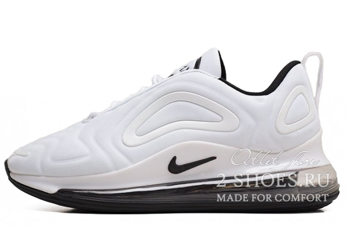 Кроссовки Nike Air Max 720 White Black