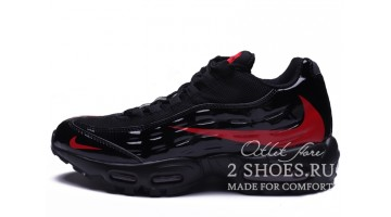 Кроссовки Мужские Nike Air Max 95 Heron Preston Black Red
