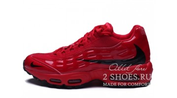 Кроссовки Мужские Nike Air Max 95 Heron Preston Red Black