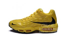 Nike Air Max 95 Heron Preston Yellow Black желтые кожаные