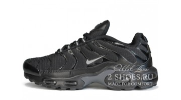 Кроссовки женские Nike Air Max TN Plus Black Silver