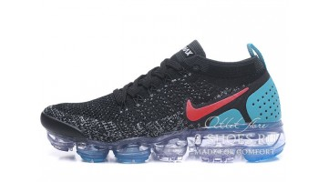 Кроссовки мужские Nike Air VaporMax 2.0 Black Hot Punch