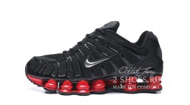 Nike Shox TL Black Red черные