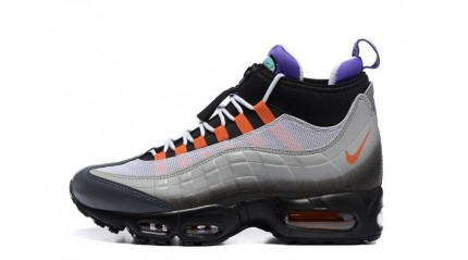 Air Max 95 КРОССОВКИ МУЖСКИЕ<br/> NIKE AIR MAX 95 SNEAKERBOOT GREEDY GRAY