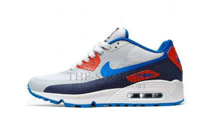 Air Max 90 КРОССОВКИ МУЖСКИЕ<br/> NIKE AIR MAX 90 HYP PRM WHITE BLUE RED