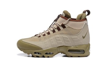 Кроссовки Мужские Nike Air Max 95 Sneakerboot Khaki Beige