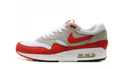 купить Nike Air Max 87 Anniversary White Red