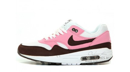 Air Max 1 КРОССОВКИ ЖЕНСКИЕ<br/> NIKE AIR MAX 87 PINK WHITE BROWN