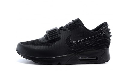 Air Max 90 КРОССОВКИ МУЖСКИЕ<br/> NIKE AIR MAX 90 YEEZY BLACK FULL