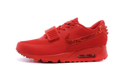 Air Max 90 КРОССОВКИ МУЖСКИЕ<br/> NIKE AIR MAX 90 YEEZY RED OCTOBER