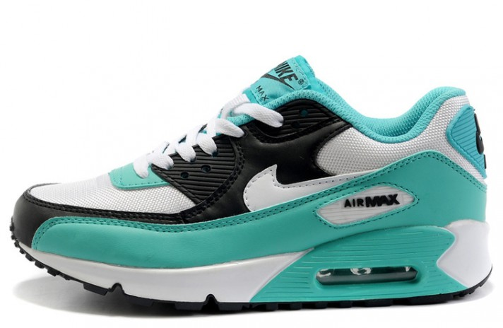 Nike Air Max 90 Essential Turquoise Black White бирюзовые