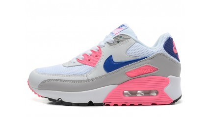 Air Max 90 КРОССОВКИ ЖЕНСКИЕ<br/> NIKE AIR MAX 90 ESSENTIAL GREY PINK BLUE