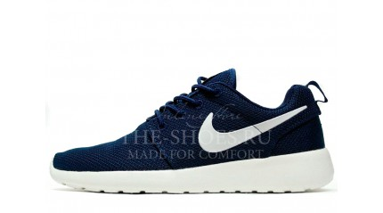 Nike Roshe Run Midnight Blue White