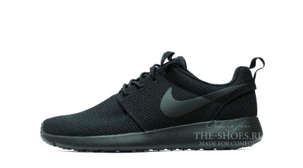 Nike Roshe Run Black Full