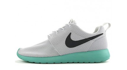 Roshe Run КРОССОВКИ МУЖСКИЕ<br/> NIKE ROSHE RUN WHITE MINT BLACK