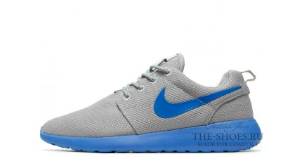 Roshe Run КРОССОВКИ МУЖСКИЕ<br/> NIKE ROSHE RUN GREY TOY BLUE