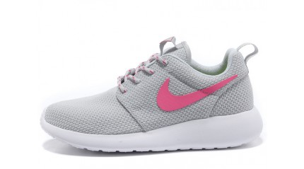 Roshe Run КРОССОВКИ ЖЕНСКИЕ<br/> NIKE ROSHE RUN GREY PINK WHITE