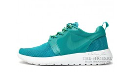 Nike Roshe Run Hyperfuse (HYP) Rich Mint White бирюзовые