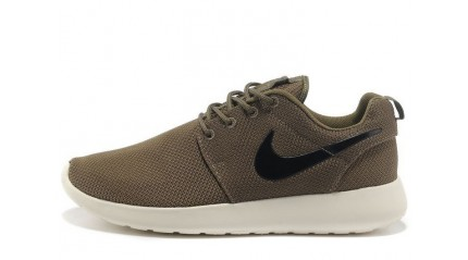 Roshe Run КРОССОВКИ МУЖСКИЕ<br/> NIKE ROSHE RUN IGUANA GREEN WHITE BLACK