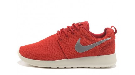 Roshe Run КРОССОВКИ ЖЕНСКИЕ<br/> NIKE ROSHE RUN RED RICH WHITE