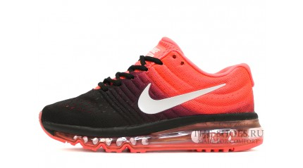 Air Max 2017 КРОССОВКИ ЖЕНСКИЕ<br/> NIKE AIR MAX 2017 ORANGE RICH BLACK