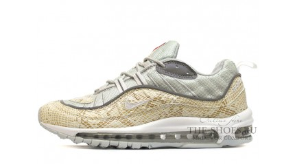 Air Max 97 КРОССОВКИ МУЖСКИЕ<br/> NIKE AIR MAX 97 SUPREME SNAKESKIN GRAY